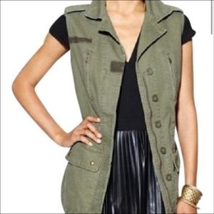 Willow and Clay Army Green Utility Jacket. Size XS